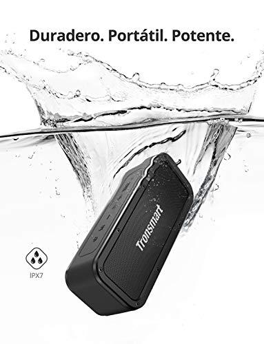 Altavoz Bluetooth Potente, Tronsmart Force 40W Altavoz inalámbrico Portátil, Waterproof IPX7, Efecto de Triple Bajo, Doble Driver, 15 Hora de Reproducción, TWS/NFC, Asistente de Voz para Viaje, Fiesta