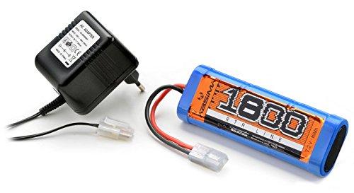 Combo accu 7.2V 1800mAh NIMH + Chargeur 220V ABSIMA