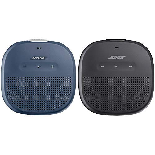 Bose ® SoundLink Micro Bluetooth-Lautsprecher dunkelblau &  Micro Bluetooth-Lautsprecher schwarz