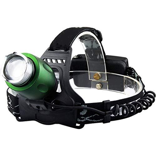 C-Xka Éclairage extérieur imperméable à l'eau d'éblouissement à Longue portée de Charge Camping Pêche Éblouissement Miner 's Lampe Lampe de pêche de Nuit