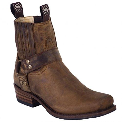 Sendra Boots 8286MO braun Gr. 41 * incl. original Mosquito ® Stiefelknecht *