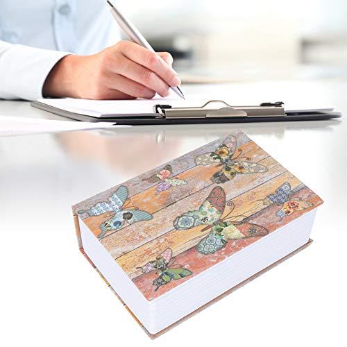 SALALIS Caja de Monedas, diseño portátil Caja de Dinero de diseño único de Acero Inoxidable Objetos de Valor para Regalos