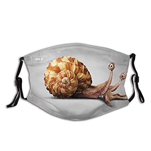 Máscara facial de moda cómoda caracol pulpo diseño a prueba de sol Bandana de moda para la pesca