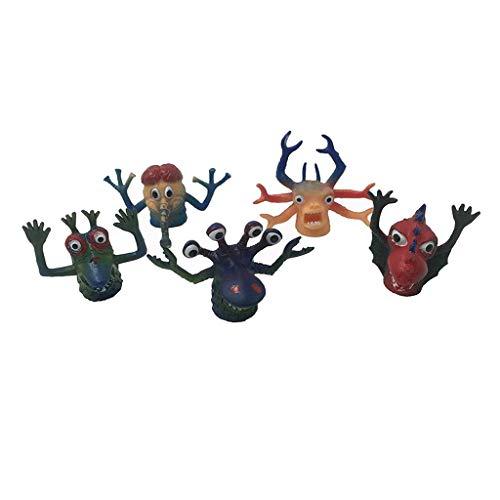 Colcolo 5pcs Juguetes de Marionetas de Dedo Lindo Monstruo de Dedo