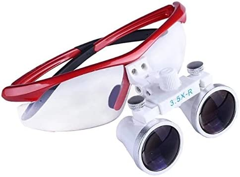 2021 BoNew 3.5X-R Binocular Optical Dental Head Glass Surgical specialty shop Loupe