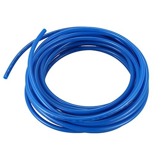 Kirmax Manguera tubo tuberia de aire de PU, Azul Longitud 10M, 8mm x 5mm