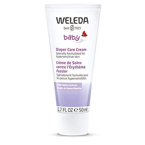 Weleda White Malve babycrème, natuurlijke cosmetica huidcrème per stuk (1 x 78 G)