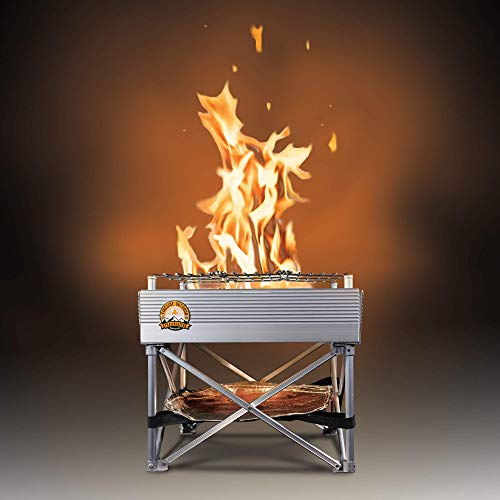 """Campfire Defender Protect Preserve Trailblazer - Portable Wood-Burning Camp Stove/Fire Pit 