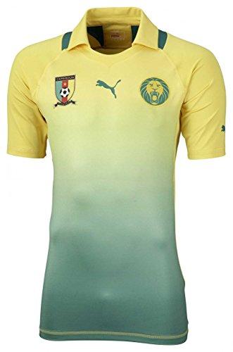 PUMA Cameroon Away Shirt Promo Kamerun Herren Trikot Gr. XXL Jersey, Bekleidungsgröße:XXL