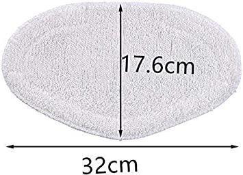 Wean Paquete de 4 almohadillas para cepillo Vaporetto Vaporforce de Polti producto original para Smart 35 Mop Smart 40 Mop Smart 100 SV400 Hygiene SV420 Frescovapor