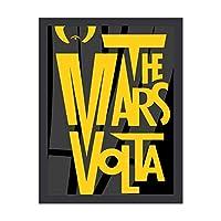マーズ・ヴォルタ アートデリ ポスター パネル 絵キャンバスの壁アート 木製の枠 アートワーク 壁飾り 壁ポスター おしゃれ 30*40cm 玄関やリビング お祝いや贈り物に 雰囲気 癒し 外枠付き