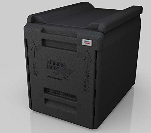 KÄNGABOX®Tower GN 1/1 Euro – Die Thermobox für platzsparende Transportlösungen. 66 Liter EPP Isolierbox