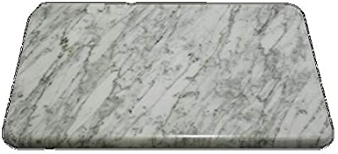 長方形 クールマット 白 ペット ひんやり マット 石製 大理石 縦300 横450 厚さ15mm