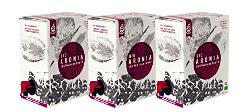 BIO Aroniasaft 3 x 3 Liter Bag in Box - Obsthof Stockinger