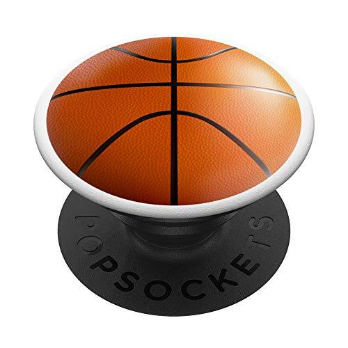 Un arte realista de la pelota de baloncesto se ve increíble PopSockets PopGrip: Agarre intercambiable para Teléfonos y Tabletas