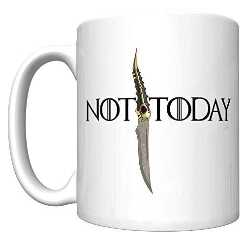 Not Applicable No Hoy con la Daga de Catspaw (Arya Stark, Juego de Tronos) [V] Taza