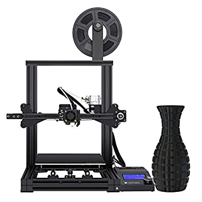 ANYCUBIC 3D Printer, Mega Zero FDM Printer with Resume Printing and UL Certified Power Supply Metal Printers, 220x220x250mm