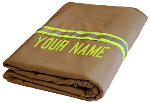 FIS Firefighter Personalized Tan Station Blanket