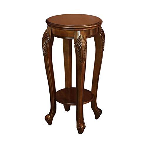 LIYONG Legno Tavolino Letto a Castello Divano Divano-Chair Tavolino Intagliato Design Mobili for la casa (40X40X79cm)