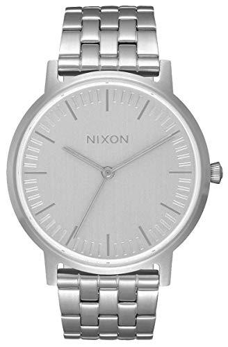 Nixon Reloj Analogico para Unisex de Cuarzo con Correa en Acero Inoxidable A1198-1920-00