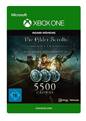 The Elder Scrolls Online: Tamriel Unlimited Edition: 5500 Crowns | Xbox One - Download Code