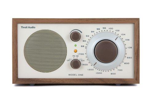 Tivoli Audio Model One AM/FM Table Radio - Walnut/Beige