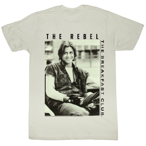 The Breakfast Club The Rebel T-shirt, Officially Licensed