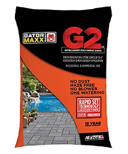 Alliance Gator Maxx G2 Intelligent Polymeric Sand for Paver and Natural Stone Joints UP to 4