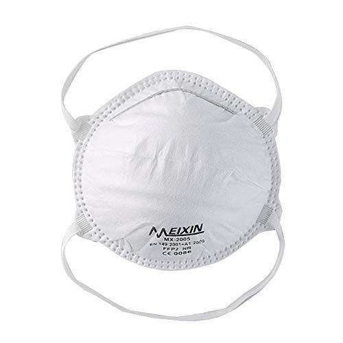 IronHeel Mask FFP2,  máscara antipolvo antipolvo,  máscara protectora,  buen efecto de filtrado,  adecuada para actividades al aire libre -  6 piezas