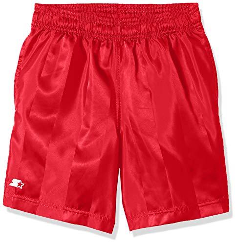 Starter Boys 7' Soccer Short, Team Red L (12/14)