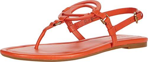 COACH Jeri Sandal Geranium Smooth Leather 8