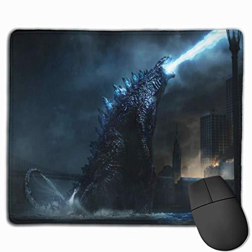Godzilla - Alfombrilla de ratón para juegos, antideslizante, 25 x 30 cm