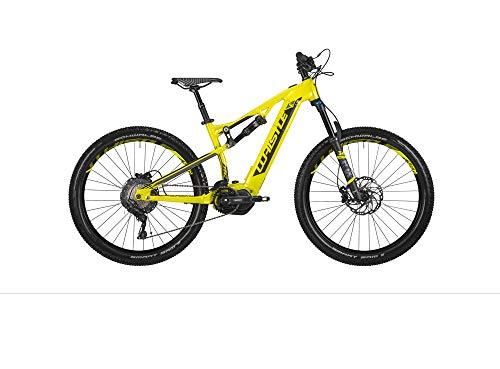 Whistle - Bicicleta eléctrica Show, Modelo 2020, 27,5 + 11 V, Giallo/Nero, M