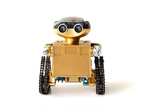 WDLY DIY Todo Metal Artesanos Mini Trailblazer Modelo De Robot, Metal 3D Manual del Modelo De Ensamblaje Puede Empezar A Construir Bloques, Juguetes, Enseñanza Moldes