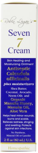 7 Cream, Skin Healing and Moisturizing Ointment - 2oz. Bottle