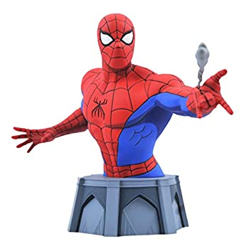 DIAMOND SELECT TOYS Marvel Animated Spider-Man Bust Multicolor 6 inches