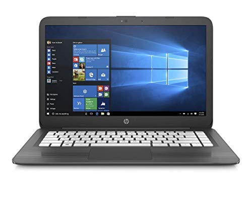 HP 2018 Stream 14 Inch Laptop Computer, Intel Celeron N3060 1.6GHz, 4GB RAM, 32GB SSD, Windows 10 (Renewed)