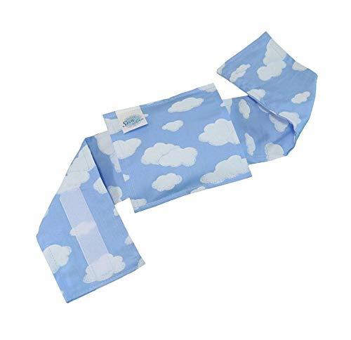 Bolsa Térmica Bebê Sem Cólica Com Cinta Céu Azul