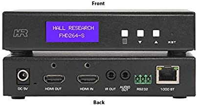 Hall Research FHD264-S AV IP HDMI Extender (Transmitter) with Loop output/RS232/IR