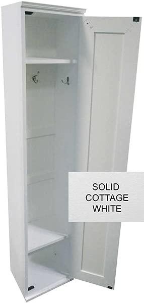 储物柜柜实心小屋白色