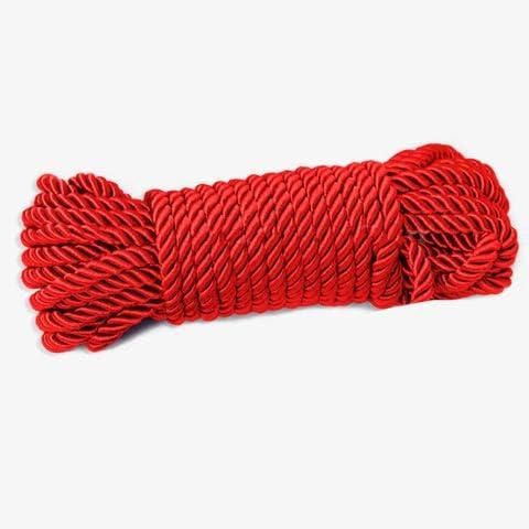 32 feet 8mm 1 3inch Diameter Rope Product Braided shipfree Silk Solid Soft Twist