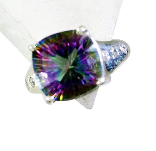 riyo leicht 925 Sterling Silber ausgezeichnete natürliche Multi Ring Geschenk 47 (15.0)