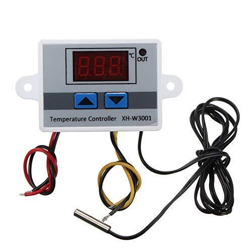 KAIBINY XH-W3001 220V 10A Controlador de Temperatura del LED Digital Sonda del Interruptor de Control del termostato