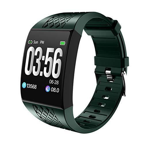 P16 Smart Muñequera Fitness Tracker Pulsera Tasa del corazón Monitoreo de Sueño Control Música Música Música Smart Watch IP68 Correa Impermeable SmartWatch,D