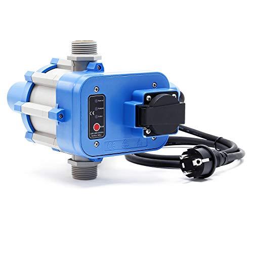 Druckschalter EPC-1.1 230V mit Steckdose für Hauswasserwerke & Pumpen 1-phasig mit Trockenlaufschutz