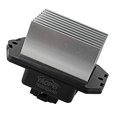 HVAC Fan Blower Motor Resistor Fit for 2003-2005 Accord 2006-2007 Civic 2004-2008 Acura TSX RU-398 79330SDAA01