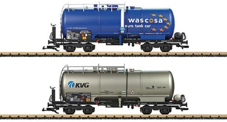 Mrklin LGB 47831 - Kesselwagen-Set KVG Wascosa