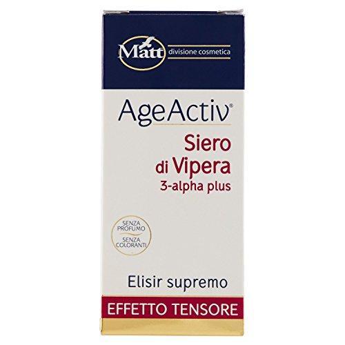 Matt - Siero di Vipera - Rivitalizzante per Pelle del Viso - 30 ml