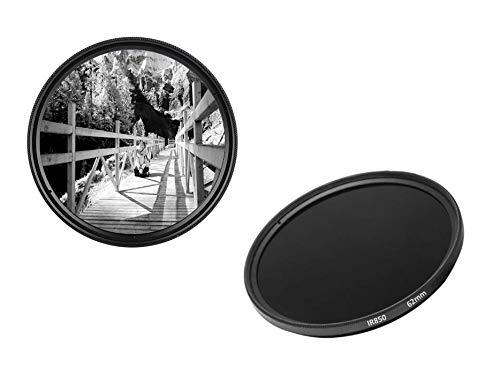 62mm IR850 Infrarotfilter IR Filter 62 mm IR 850 dHD Digital Passfilter