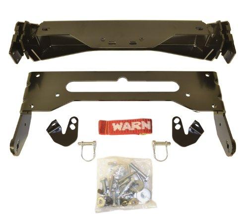 WARN 79925 ProVantage Plow Kit für ATV und Side x Side Front Mount Plow Kit